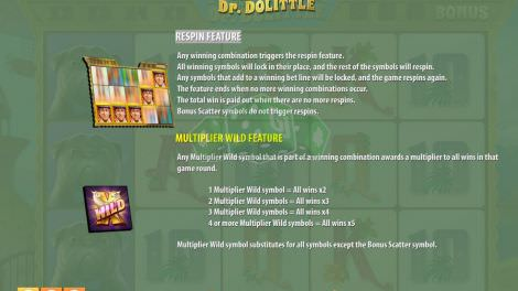 Das Respin Feature bei Tales of Dr. Dolittle