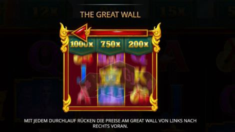 Das Bonus-Feature bei The Great Wall