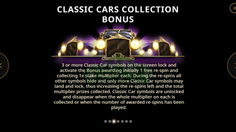 Classic Cars Collection Bonus