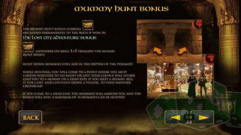 Mummy Hunt Bonus