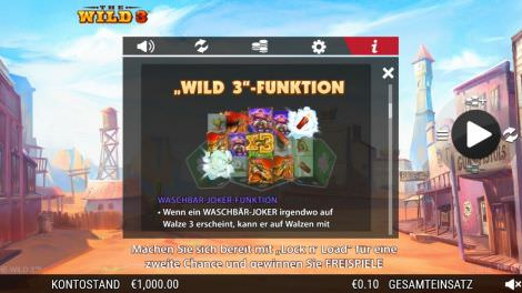 Wild 3 Funktion