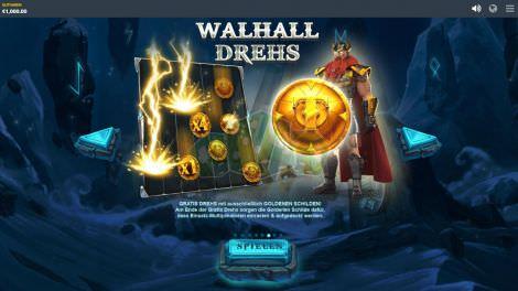 Walhall Drehs