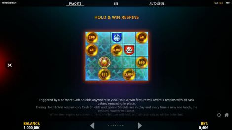 Hold & Win Respins