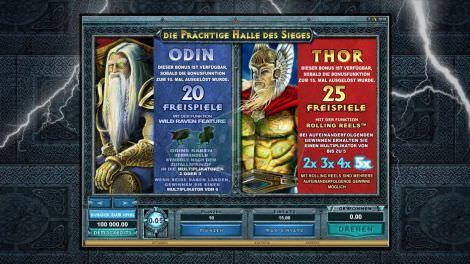 Odin & Thor