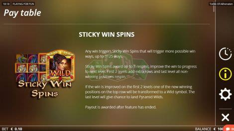 Sticky Win Spins
