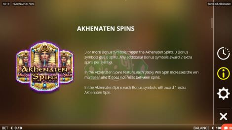 Akhenaten Spins