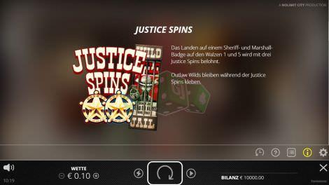 Justice Spins