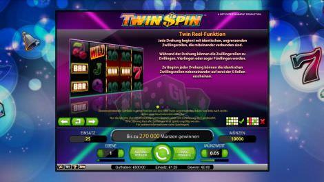 Twin Reel-Funktion