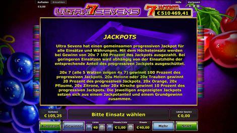 Jackpoterklärung