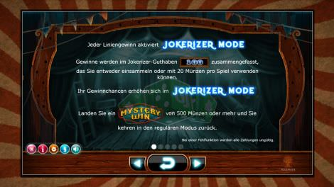 Jokerizer Mode mit Mystery Win