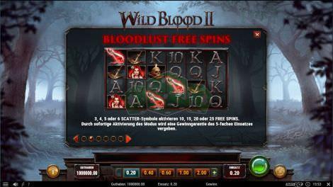 Bloodlust Freispiele