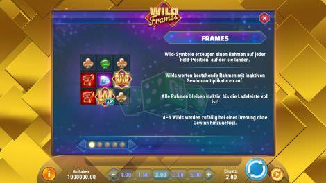 Das Rahmenfeature bei Wild Frames