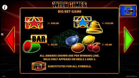 Big Bet Game