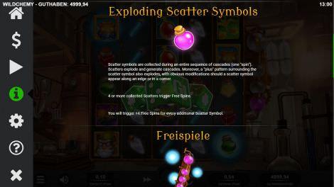 Exploding Scatter Symbols