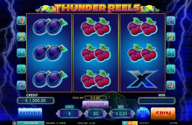 Thunder Reels Titelbild