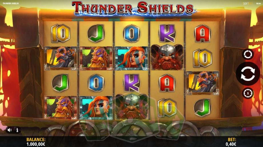 Thunder Shields Titelbild