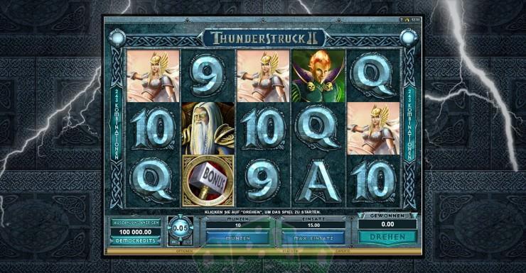 Thunderstruck II Titelbild