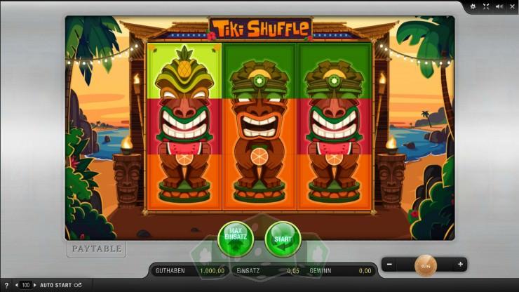 Tiki Shuffle Titelbild