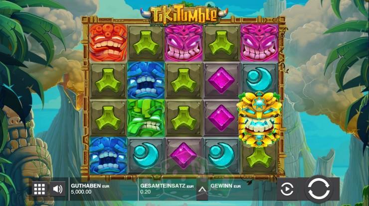 Tiki Tumble Titelbild