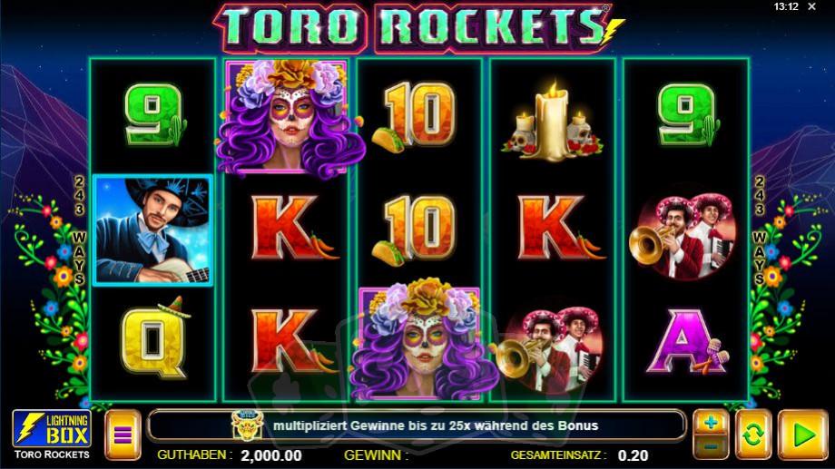 Toro Rockets Titelbild