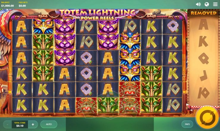 Totem Lightning - Power Reels Titelbild