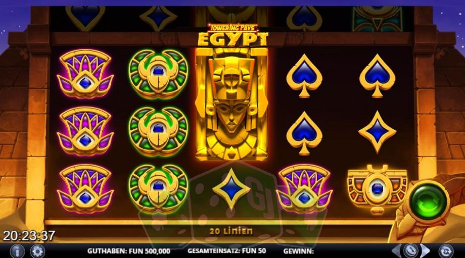 Towering Pays Egypt Titelbild