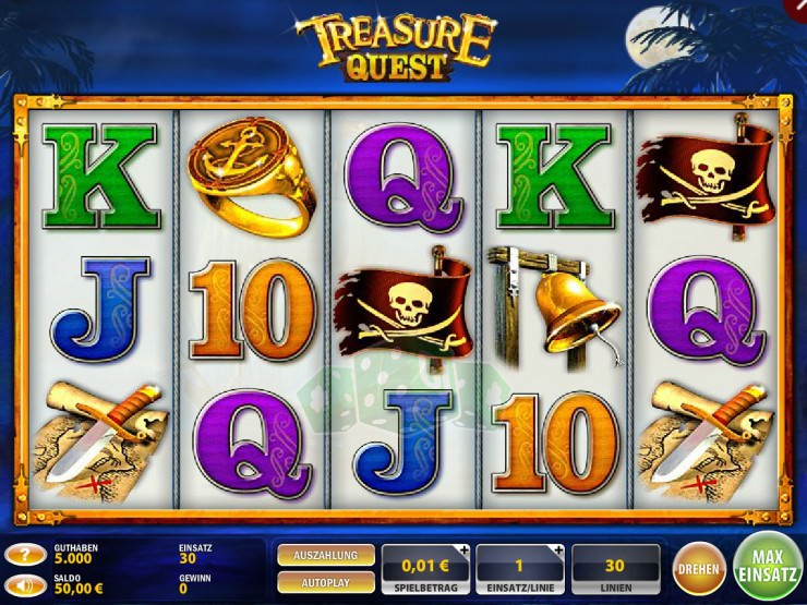 Treasure Quest Titelbild