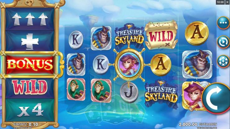 Treasure Skyland Titelbild