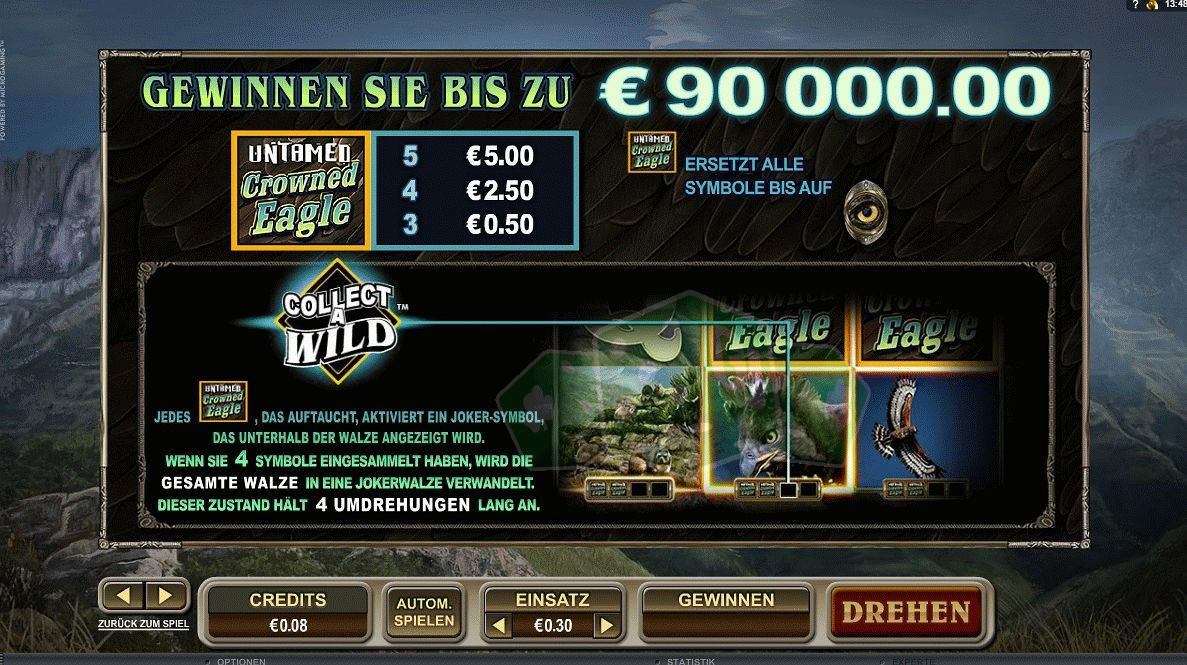 Untamed Crowned Eagle kostenlos spielen