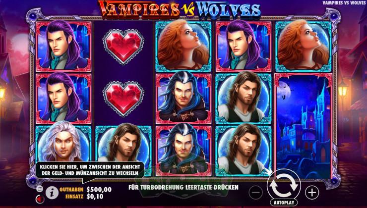 Vampires vs Wolves Titelbild