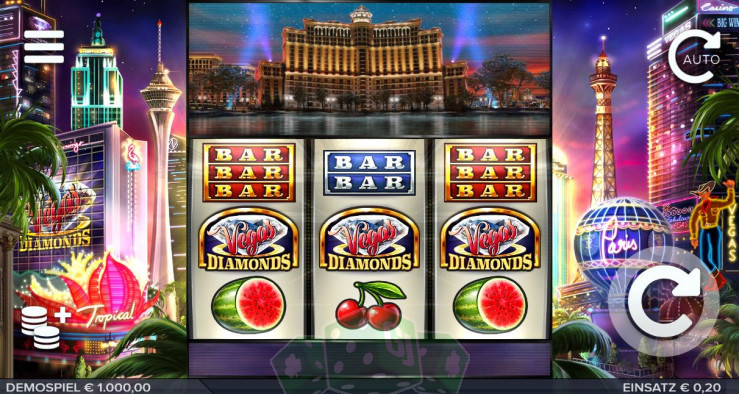 Vegas Diamonds Titelbild