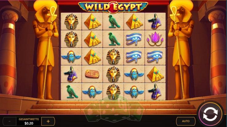 Wild Egypt Titelbild