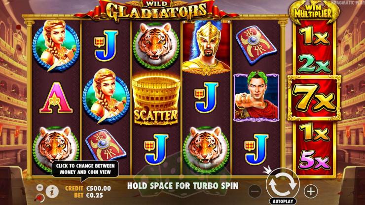 Wild Gladiators Titelbild