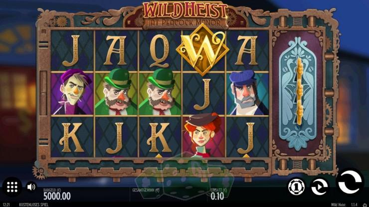 Wild Heist Titelbild