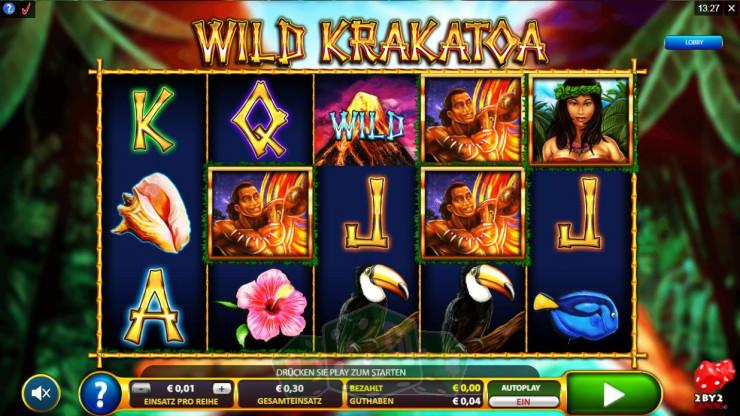 Wild Krakatoa Titelbild