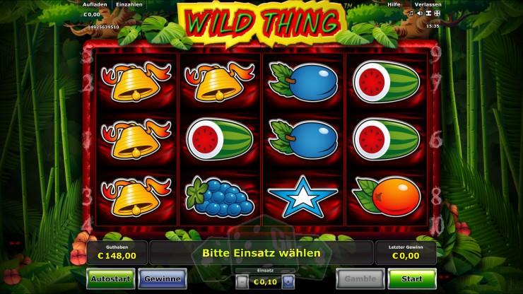 Wild Thing Titelbild