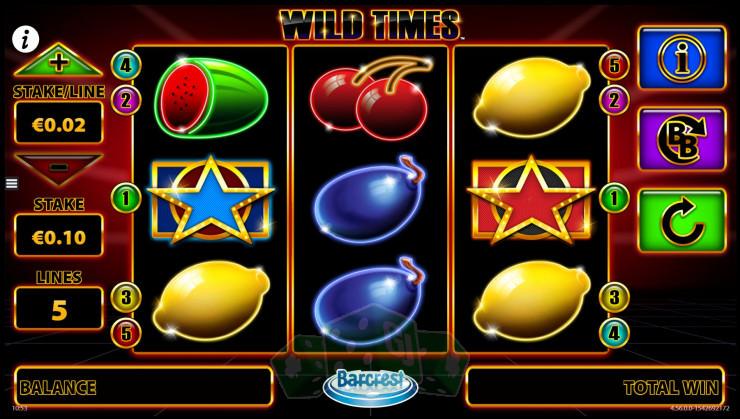 Wild Times Titelbild