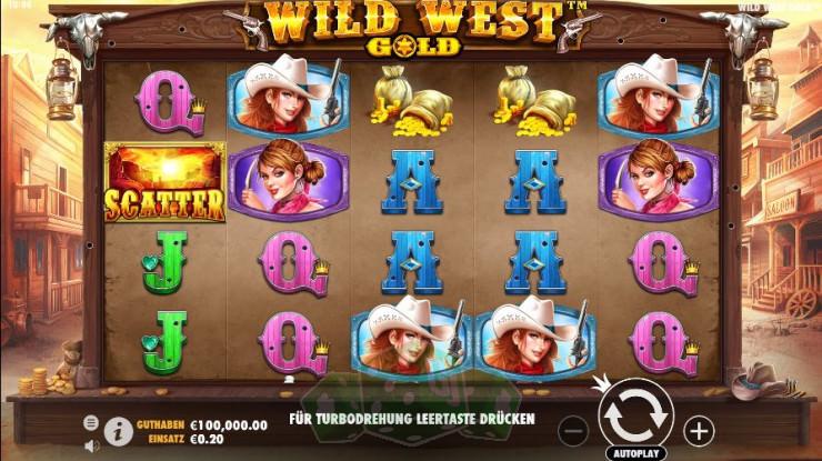 Wild West Gold Titelbild