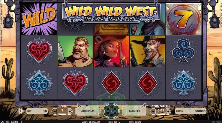 Wild Wild West Titelbild