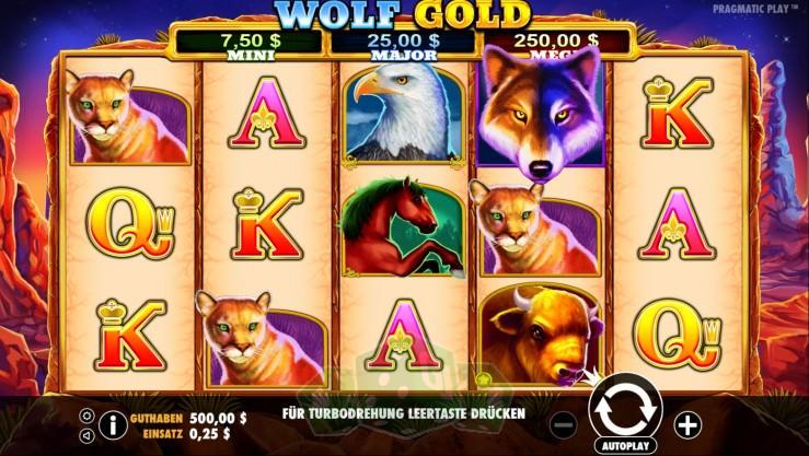 Wolf Gold Titelbild