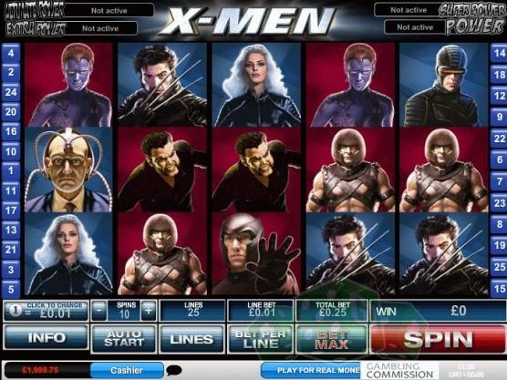 X Men Spiele