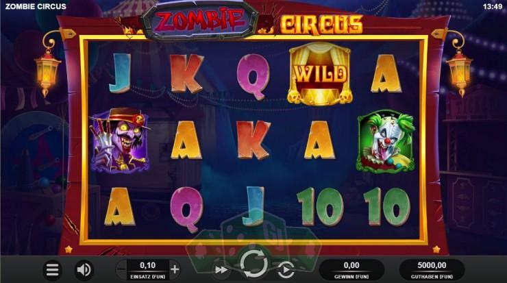 Zombie Circus Titelbild