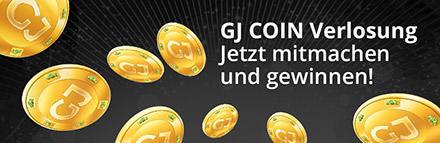 monatliche GJ Coin Verlosung