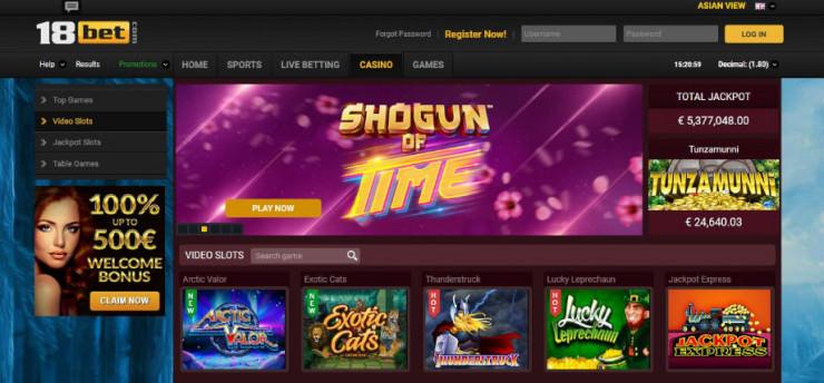 Erster 18Bet.com Test – das Online Casino hat leider nicht überzeugt