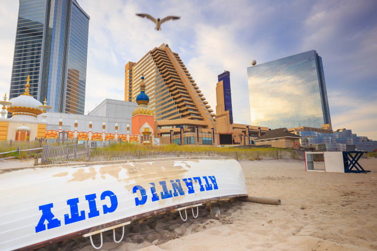 Atlantic City: Warten auf Lebensmittel – Casino-Mitarbeiter bilden 3 Kilometer Schlange