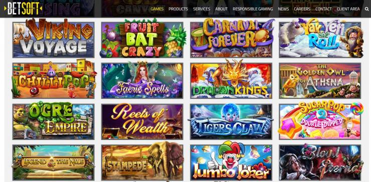 Vorstellung von Betsoft: Slots und Online Casinos mit den Games