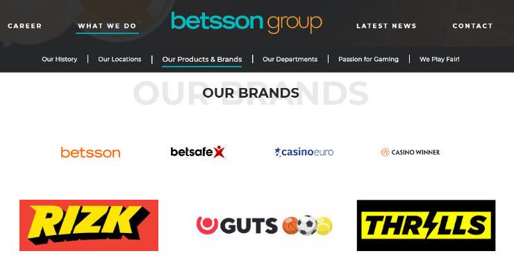 Betsson kauft GiG (RIZK, Thrills, Guts und Kaboo) für 22,3 Millionen Euro