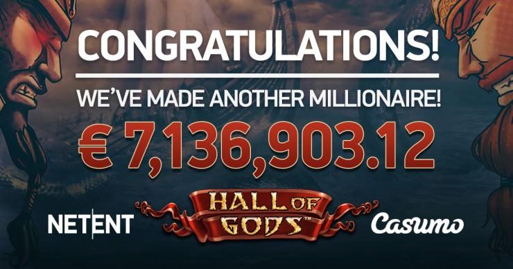 Casino Jackpot-Gewinne im November 2017