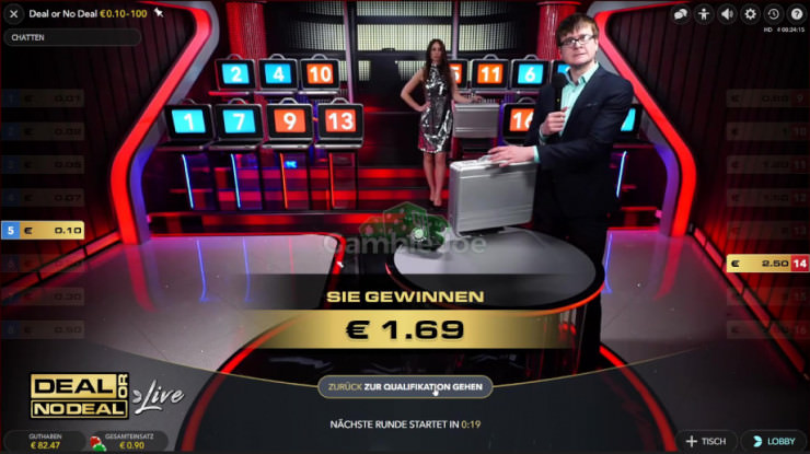Deal or No Deal Live: Die neue Live Casino Show von Evolution Gaming