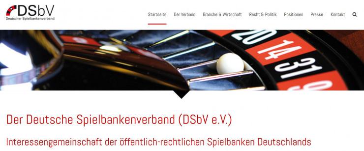 Deutscher Spielbankenverband bezeichnet Casino Werbung als illegal